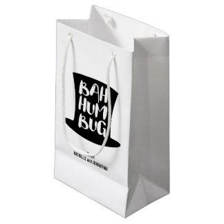 Un sac fumiste de cadeau de Bah de chant de Noël