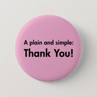 Un simple et simple : Merci ! Pin's
