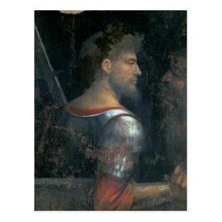 Un soldat, c.1505-10 carte postale