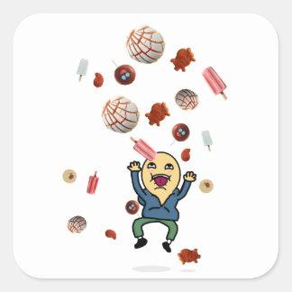 Un souhait : Conchas, dulces, autocollants de