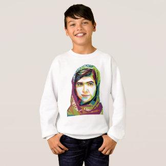 Un sweatshirt du garçon de fille