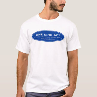 Un T-shirt aimable d'acte