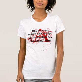 Un T-shirt de CONCEPTION de MARQUE ROUGE de fans