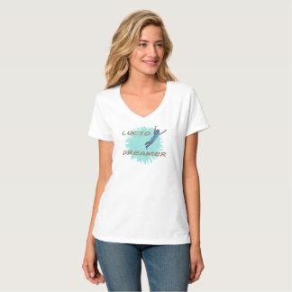 Un T-shirt de femmes dynamiques pour les rêveurs