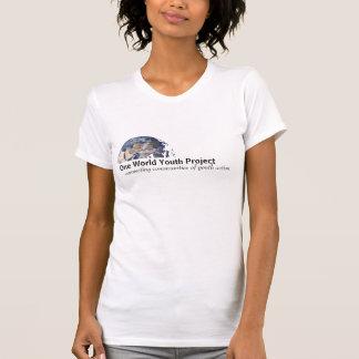 Un T-shirt de projet de la jeunesse du monde