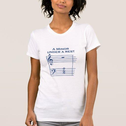 Un T-shirt mineur - dames