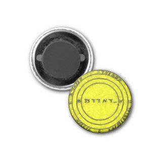 Un talisman pour assurer toute la prospérité magnet carré 2,50 cm