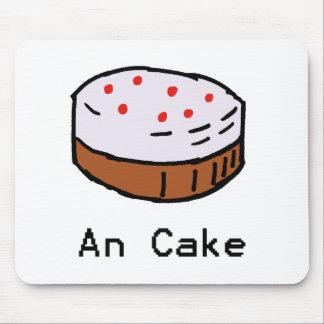 Un tapis de souris de gâteau
