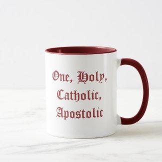 Un, tasse sainte, catholique, apostolique