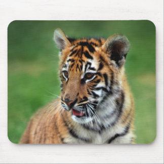 Un tigre de bébé mignon tapis de souris