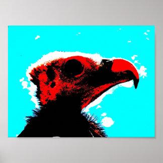 Un vautour posters