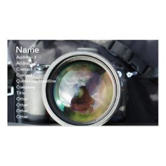 Un vieil appareil-photo modèles de cartes de visite