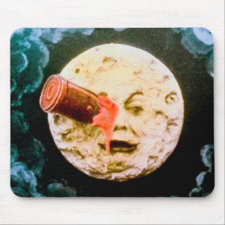Un voyage à la lune tapis de souris