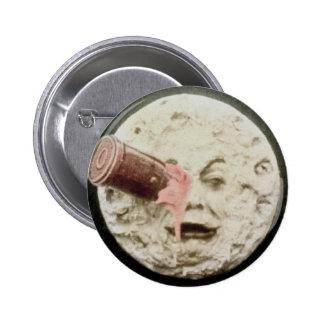 Un voyage au classique de Georges Melies de lune Badge Rond 5 Cm