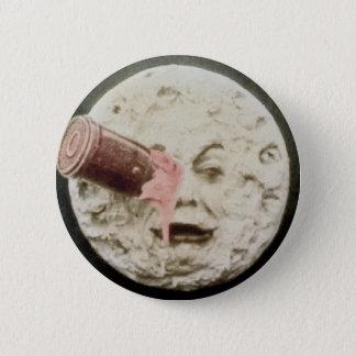 Un voyage au classique de Georges Melies de lune Pin's