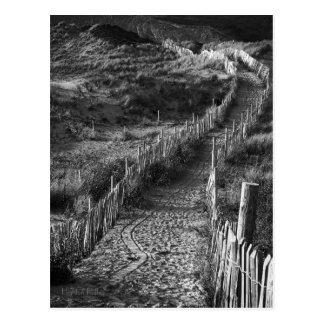 Un voyage fait, Bantham, carte postale de Devon