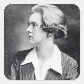 Una Vincenzo, Madame Troubridge, c.1915 Sticker Carré