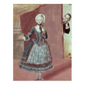 Une actrice dans le rôle de Rosine Carte Postale