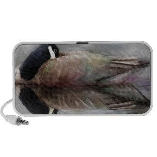 une aile cassée haut-parleur iPod