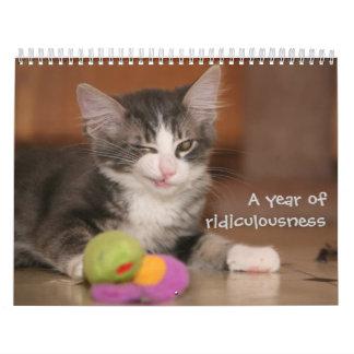 Une année de ridicule calendriers