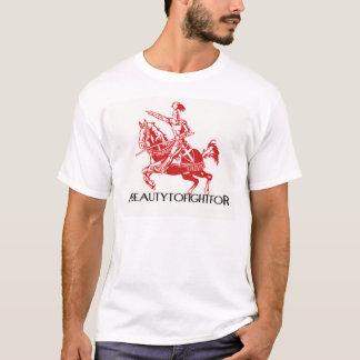 """Une beauté à lutter pour le T-shirt """"chevalier """""""
