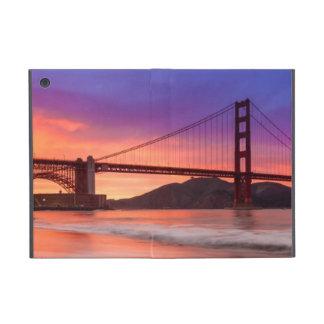 Une capture de golden gate bridge de San Francisco Coques iPad Mini