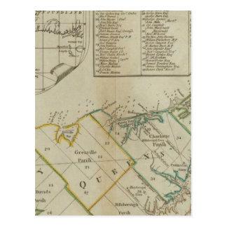 Une carte de l'île de St John