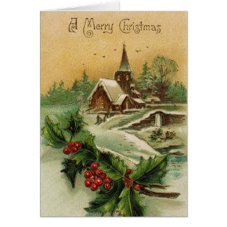 Une carte de voeux de Joyeux Noël