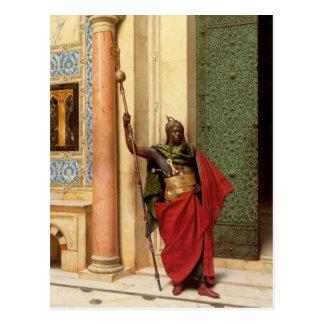 Une carte postale de garde de Nubian