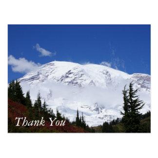 Une carte postale plus pluvieuse de Merci de Mt