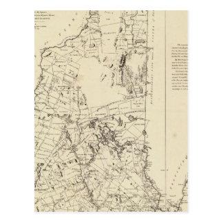 Une carte topographique