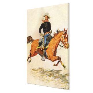 Une cavalerie commandent par Remington, militaires Toile Tendue