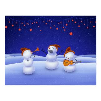 Une chanson de Noël Cartes Postales