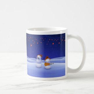 Une chanson de Noël Mug Blanc