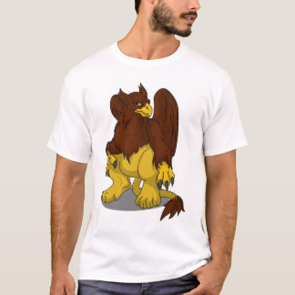 Une chemise plus docile de Brown Winja de psyché T-shirt