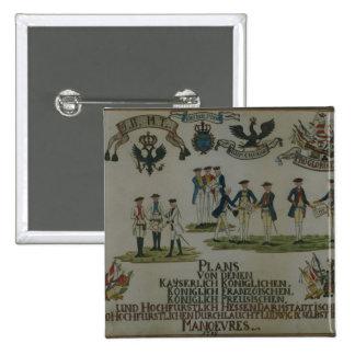 Une collection de plans de maneouvre badge