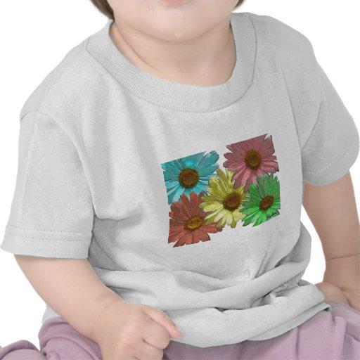 Une conception de marguerite de Gerber T-shirt