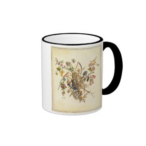 Une conception de textile de jardin, 'de l'ONU con Mug À Café