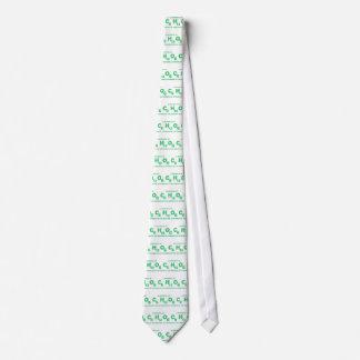 Une cuillerée de C6H12O6 aide la médecine pour des Cravate Personnalisée