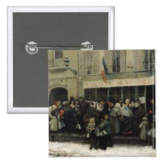 Une cuisine de soupe pendant le siège de Paris Badges