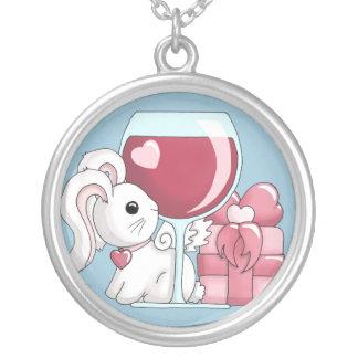 Une date avec un collier de lapin de Flutterby
