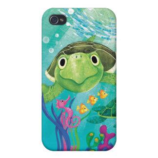 Une délivrance de tortue de mer coque iPhone 4/4S