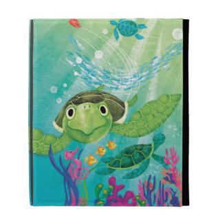 Une délivrance de tortue de mer coques iPad