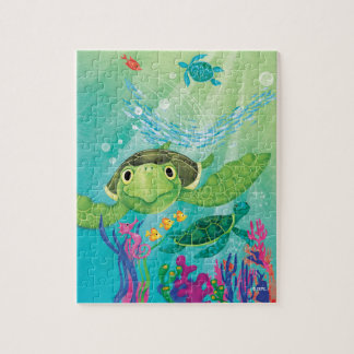 Une délivrance de tortue de mer puzzle