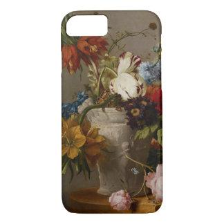 Une disposition avec des fleurs, 19ème siècle coque iPhone 8/7
