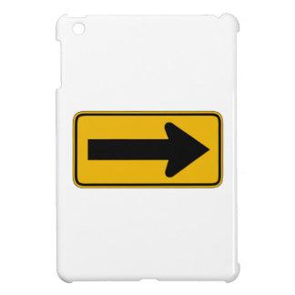 Une droite de flèche de direction, trafiquent des coque iPad mini