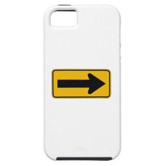Une droite de flèche de direction, trafiquent des coques iPhone 5 Case-Mate