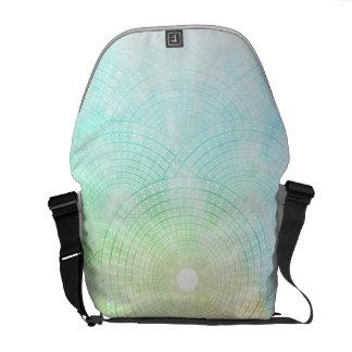 Une éclaboussure de sac messenger en pastel sacoches