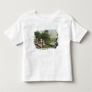 Une famille des pêcheurs à la ligne, 1749 t-shirt pour les tous petits