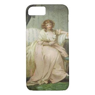 Une femme a appelé Anne, l'épouse de l'artiste, Coque iPhone 7